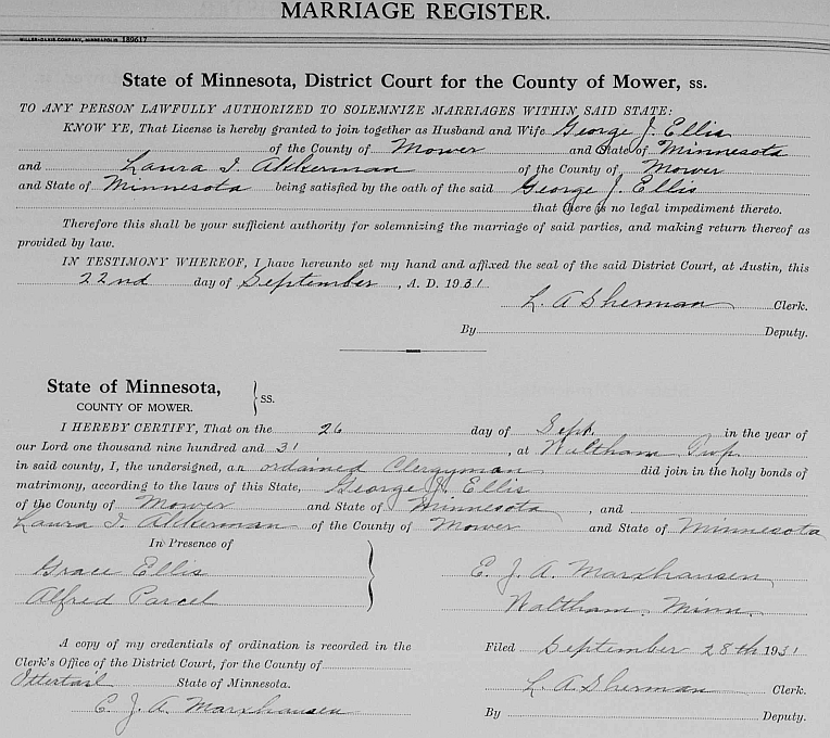 Adams - Ashby Family History - Person Page 136
